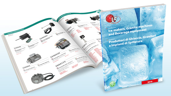 Leaflet: Spare Parts for Ice Makers, Granita Machines and Beverage Equipment